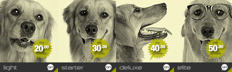 Hostdog resellers Light package banner image