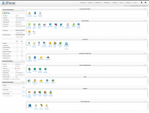 zpanel dashboard screenshot